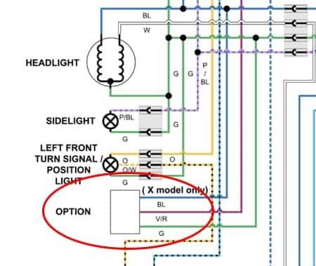 motorcycle voltmeter wiring diagram how to install a 12v power adapter on a motorcycle pack up and ride  12v power adapter on a motorcycle